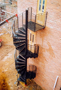 Superbe Self Assembly Spiral Fire Escape